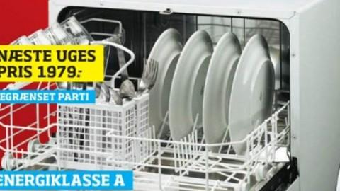 Opvaskemaskiner til miljøvenlige singler