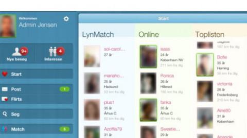 Dating.dk – nu også til iPad