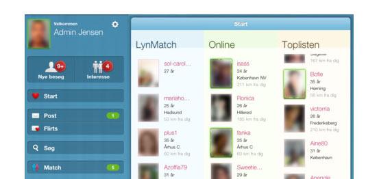 den tomme plads gratis dating app danmark