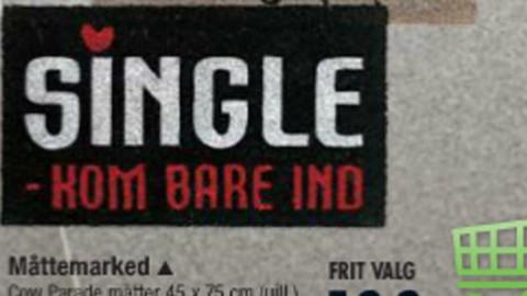 Kom bare ind – jeg er single