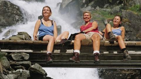 Rejser for aktive single-kvinder