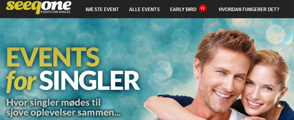 Seeqone.com er et nyt eventfirma for singler i København.