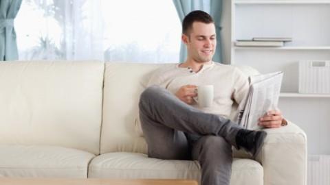 Single-mænd har også brug for hygge
