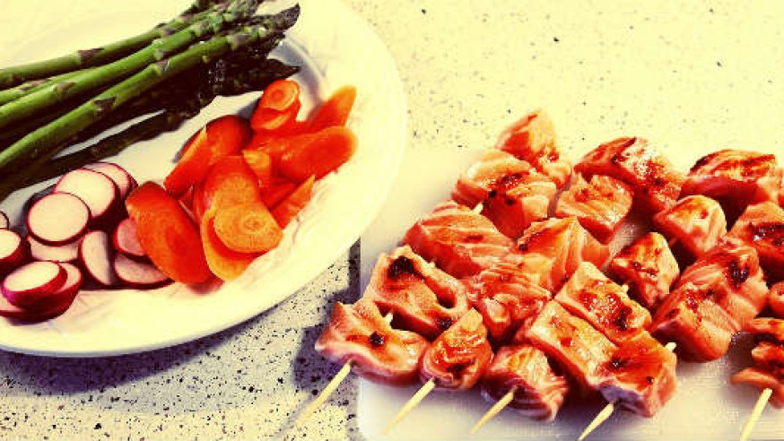 Madplan for singler – Laks, nudelsuppe og pastasalat