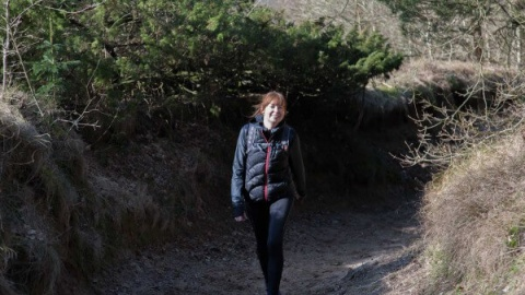 Stefanie blev single: Derfor sov hun alene i norsk skov