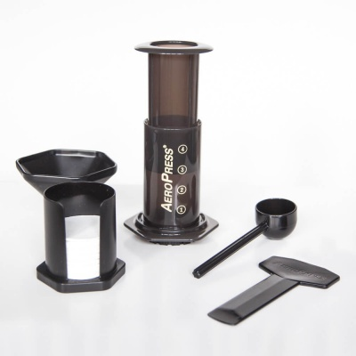 Aeropress-kaffebryggeren passer perfekt til singler