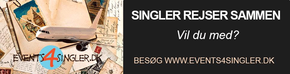 Singlerejser med Events4Singler
