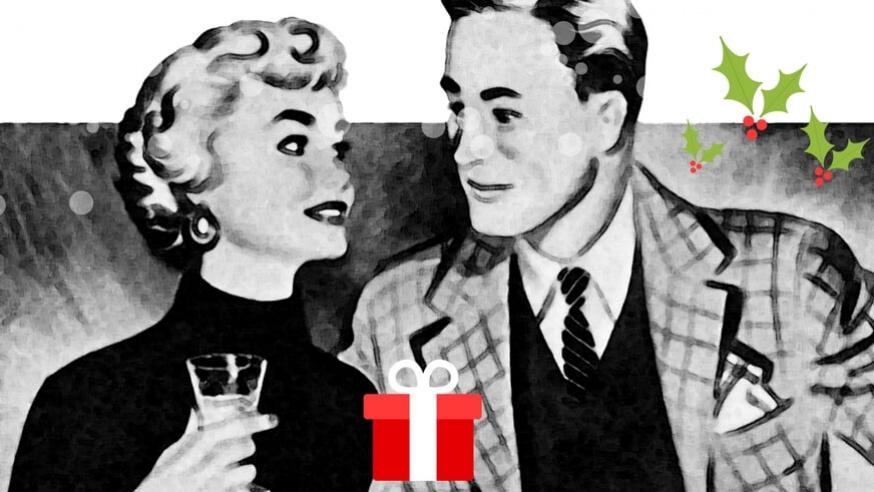 Sådan finder du en kæreste at fejre jul med